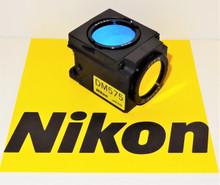 Nikon Green G-1A Fluorescent Microscope Filter Cube for E400/600/800 , TE200/300