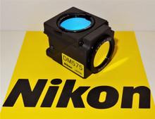 Nikon Green G-2B Fluorescent Microscope Filter Cube for E400/600/800, TE200/300