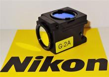 Nikon Green G-2A Fluorescent Microscope Filter Cube for E400/600/800, TE200/300
