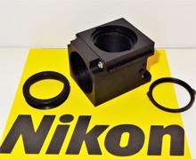 Nikon Empty Fluorescent Microscope Filter Block for E400/600, TE200/300