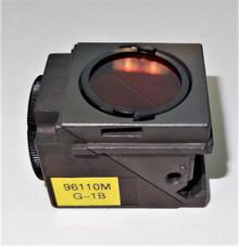 Nikon Green G-1B Fluorescent Microscope Filter Cube for E400/ 600, TE200/300
