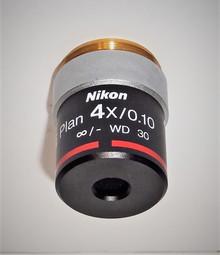 Nikon Eplan 4X Microscope Objective