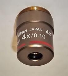 Nikon CFI 4X Microscope Objective