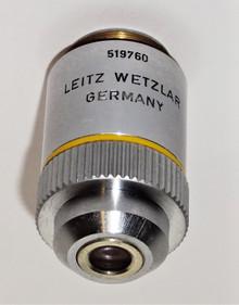 Leitz 10X EF Microscope Objective