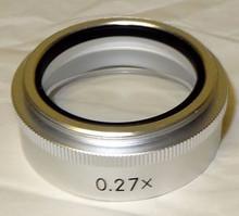 Nikon Stereo Microscope Auxiliary Objective 0.27X