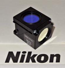 Nikon Omega Fura Red Fluorescent Microscope Filter Cube for E400/ 600 series