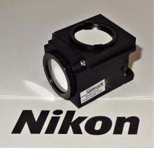 Nikon Semrock DAPI Fluorescent Microscope Filter Cube for E400/ 600 series