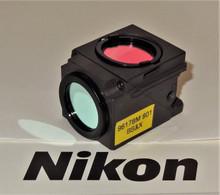 Nikon GFP Fluorescent Microscope Filter Cube for E400/ 600 series