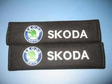 SKODA AUTO Seat Belt Shoulder Pads Cushions