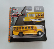 Maisto Fresh Metal Die-Cast Vehicles ~ School Bus District 2 (Yellow)