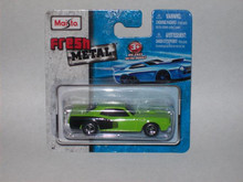 Maisto Fresh Metal Die-Cast Vehicles ~ 1971 Plymouth Hemi 'Cuda (Green)