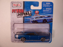 Maisto Fresh Metal Die-Cast Vehicles ~ 1969 Dodge Charger R/T (Blue)