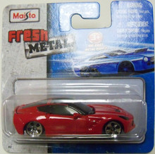 Maisto Fresh Metal Die-Cast Vehicles ~ 2014 Corvette Stingray (Red)