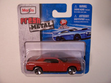 Maisto Fresh Metal Die-Cast Vehicles ~ 2008 Dodge Challenger SRT8 (Burnt Red/Orange)