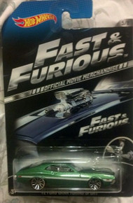 Hot Wheels Fast & Furious Official Movie Merchandise Limited Edition '72 Ford Gran Torino Sport 5/8