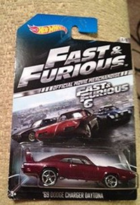 Hot Wheels Fast & Furious 6 Official Movie Merchandise '69 Dodge Charger Daytona 8/8