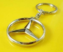 Mercedes Benz 3D Key Chain Ring
