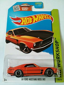 2015 Hot Wheels HW Workshop Speed Team - '69 Ford Mustang Boss 302 195/250