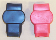 Military Ordinance / Universal Battery Terminal Red & Black Covers (Pair)