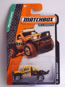 2014 Matchbox MBX Explorers - Rock Shocker 53/120
