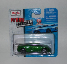 Maisto Fresh Metal Die-Cast Vehicles ~ 2002 Cadillac Cien Concept Car (Green)