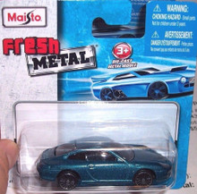 Maisto Fresh Metal Die-Cast Vehicles ~ Porsche 911 Carrera (Blue)