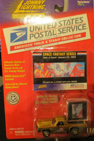 Johnny Lightning Limited Edition USPS United States Postal Service American Truck & Stamp Collection 1971 Chevy El Camino Space Fantasy Series