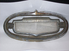 USED 1951 1952 BUICK THREE PIECE HOOD EMBLEM