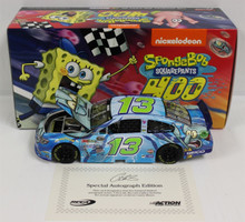 2015 Lionel Action CASEY MEARS #13 Geico Spongebob Autographed 1:24 Diecast Only 144 Made