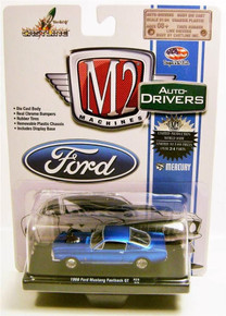 M2 Machines Auto-Drivers 1970 Ford Mustang Boss 302 R34 15-23 Diecast