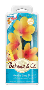 Bahama & Co. by Refresh Your Car! 06721 Scented Blossom, Aruba Blue Breeze