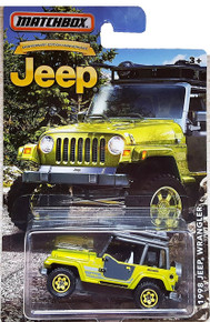 MATCHBOX LIMITED EDITION JEEP ANNIVERSARY EDITION GREEN 1998 JEEP WRANGLER DIE-CAST