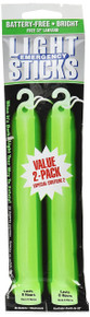 Ready America 27217 8-Hour Emergency Lighsticks (2 Pack), Green