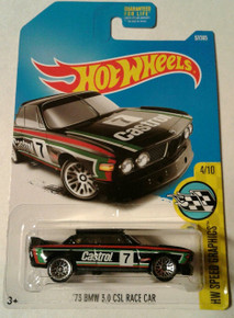 Hot Wheels 2017 HW Speed Graphics '73 BMW 3.0 CSL Race Car 57/365, Black