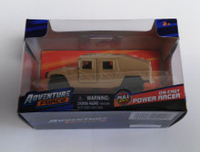 Adventure Force HUMVEE Desert Tan Pull Back Die-cast Power Racer 1:47 Scale