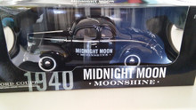 Junior Johnson Midnight Moon Moonshine 1940 Ford Coupe 1/18 Scale Die Cast Car