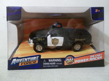 Maisto Adventure Force Ford F-150 Springfield Police Department Bomb Squad 1:47 Power Racer