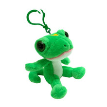 "Geico Gecko 3"" Plush Key Chain Ring"
