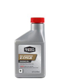 Super Tech Full Synthetic 2-Cycle Engine Oil, 6.4 oz
