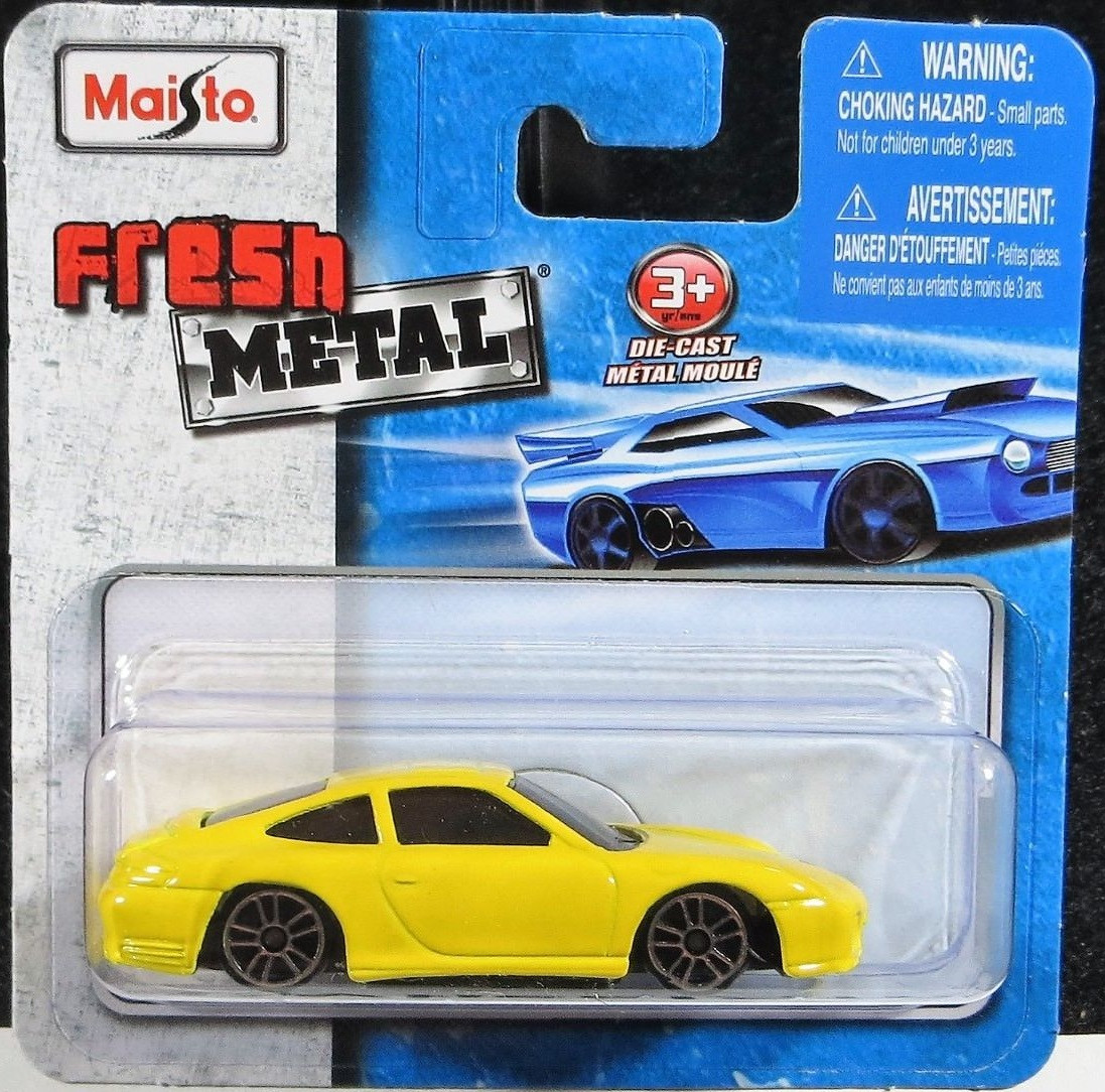 Maisto Fresh Metal Die Cast Vehicles Porsche 911 Carrera 4s