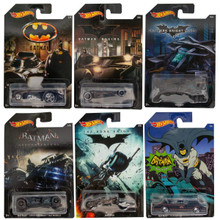 Hot Wheels Batman Complete Set of 6 Diecast Cars