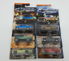 Matchbox 100 Years Chevrolet Trucks Complete Set of 6