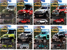 2016 Matchbox Jeep Anniversary Edition Complete Set of 8