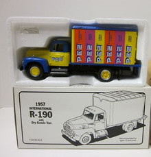 First Gear 1957 International PEZ Metal Collector Truck