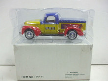 Golden Wheel Diecast 1940 Ford PEZ Candy Collectible Pickup Truck