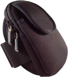 CASEBUDi Armband Case Black with Black Trim