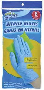 SCRUB BUDDIES Nitrile Gloves 8 Pack - FREE SHIPPING