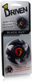 DRIVEN by Refresh Blade Spinner Vent Clip Car Air Freshener, Black Out (1-Pack)