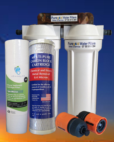 Caravan/Motorhome Twin Water Filter