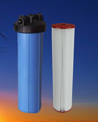 House filter for sediment removal